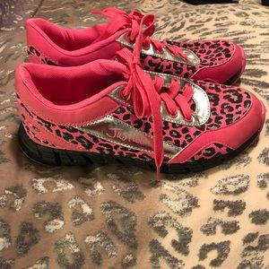 Girls Justice sneakers! Size 7!